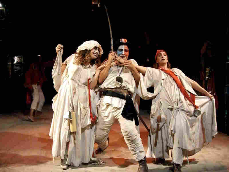In 'Charenton,' the Marquis de Sade directs a play-within-a-play.
