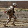 United States Marine in Afghanistan