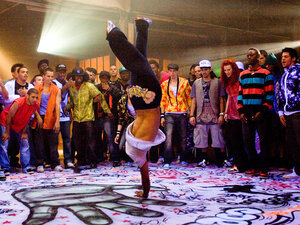Breakdancing In 'Step Up 3D'