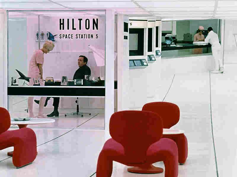 A Hilton Hotel in '2001: A Space Odyssey'