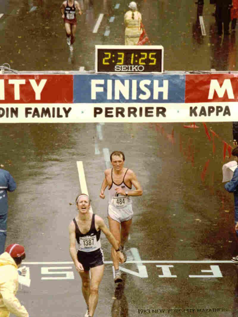 Bernd Huebner at the 1983 New York Marathon