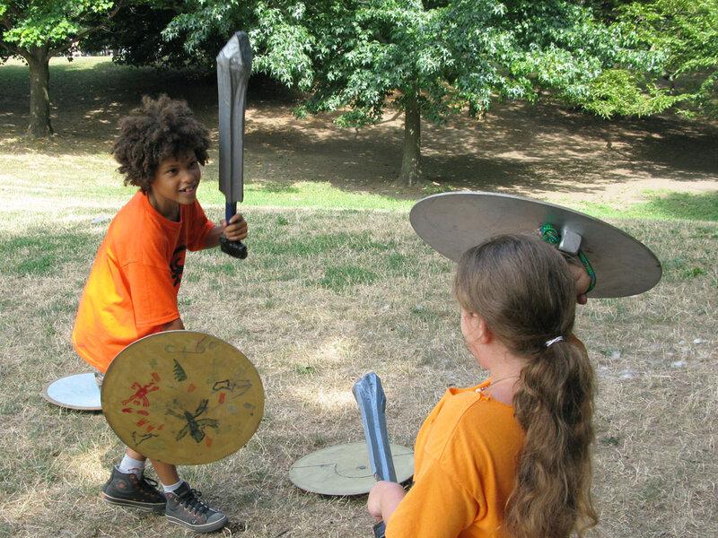 A Percy Jackson Summer Camp Thrives In Brooklyn Npr