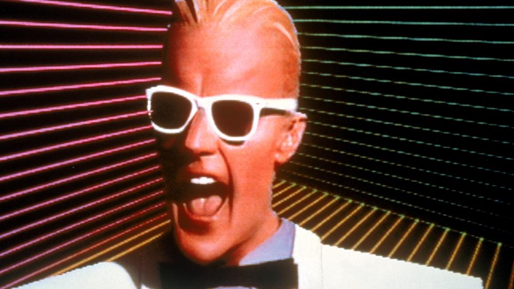 &39;80s Nostalgia M M Max Headroom Is Now On DVD  NPR