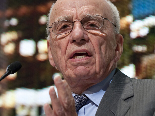 Rupert Murdoch is the chairman and CEO of News Corp.