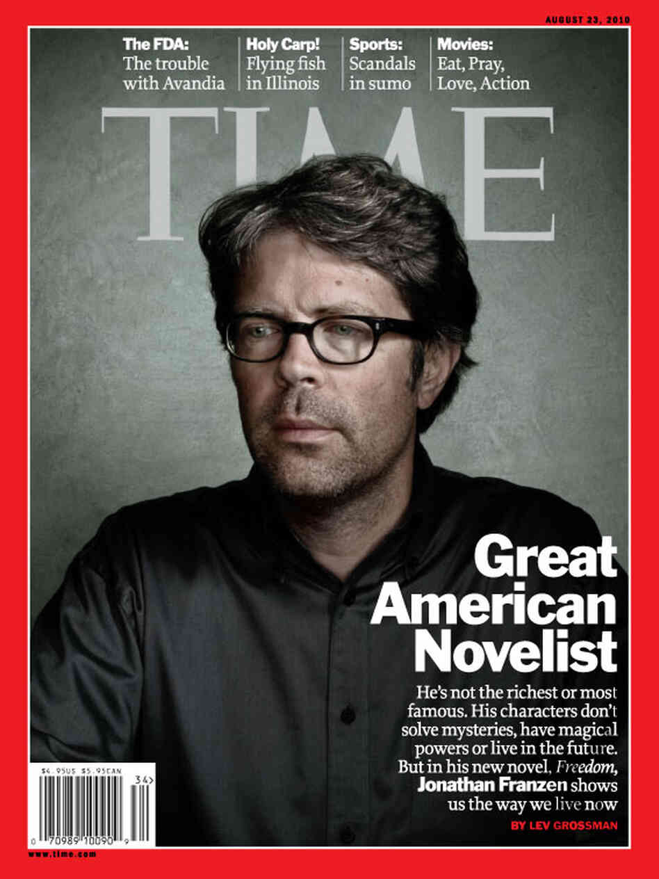 Time Cover Jonathan Franzen