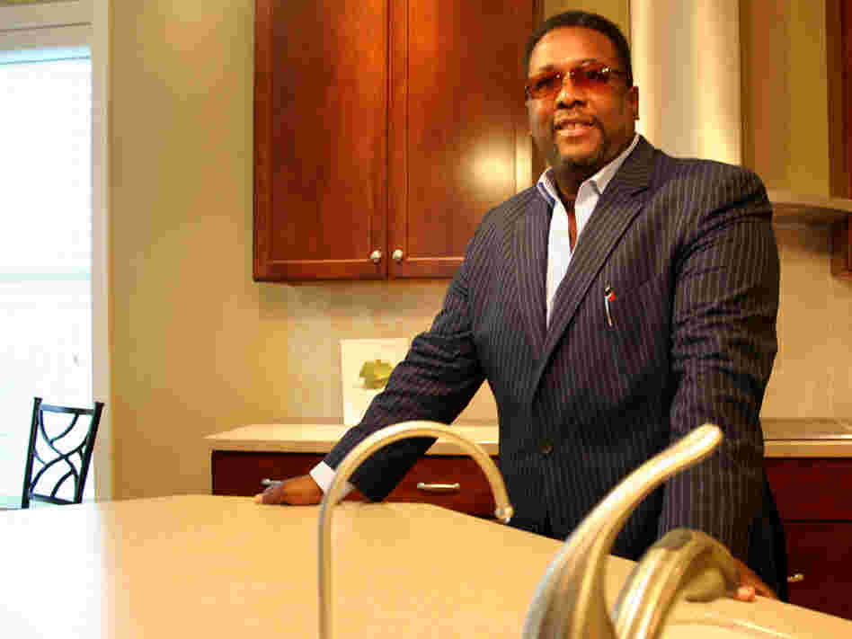 Wendell Pierce, model home