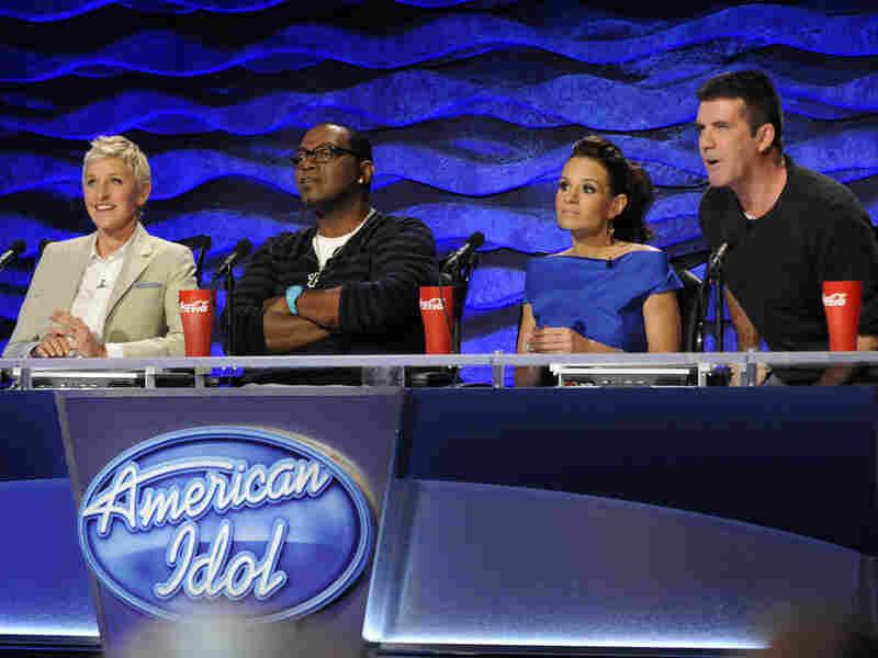 Ellen DeGeneres, Randy Jackson, Kara DioGuardi, Simon Cowell