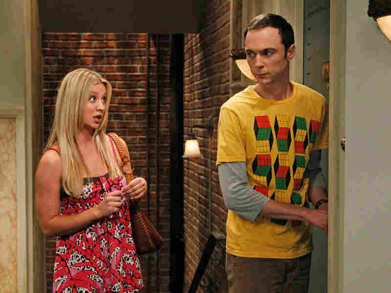 Kaley Cuoco (Penny) Jim Parsons (Sheldon Cooper)