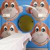 Jeff Koons' iconic monkeys brighten up the pediatric CT scanner.