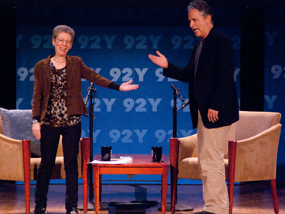 Terry Gross, Jon Stewart