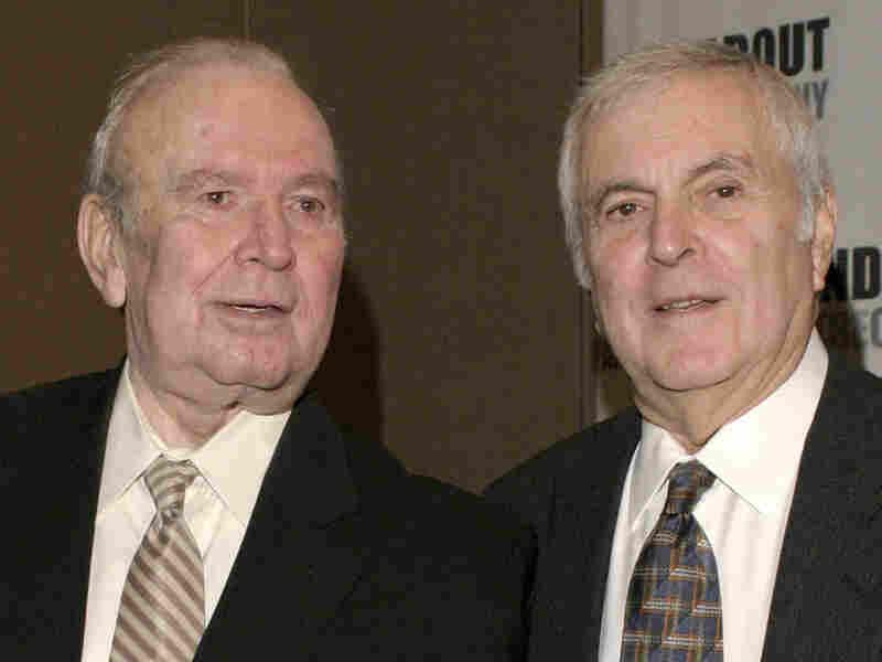Fred Ebb, left, and John Kander