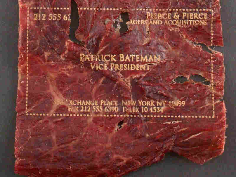 Beef Jerky Business Card