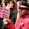 """Protester at """"don't ask, don't tell"""" hearings in Washington"""
