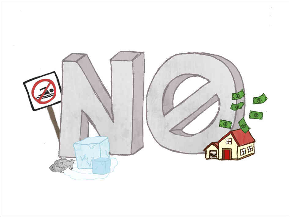 "Graphic of ""No"""