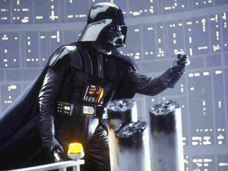 Darth Vader in the reactor shaft of Cloud City