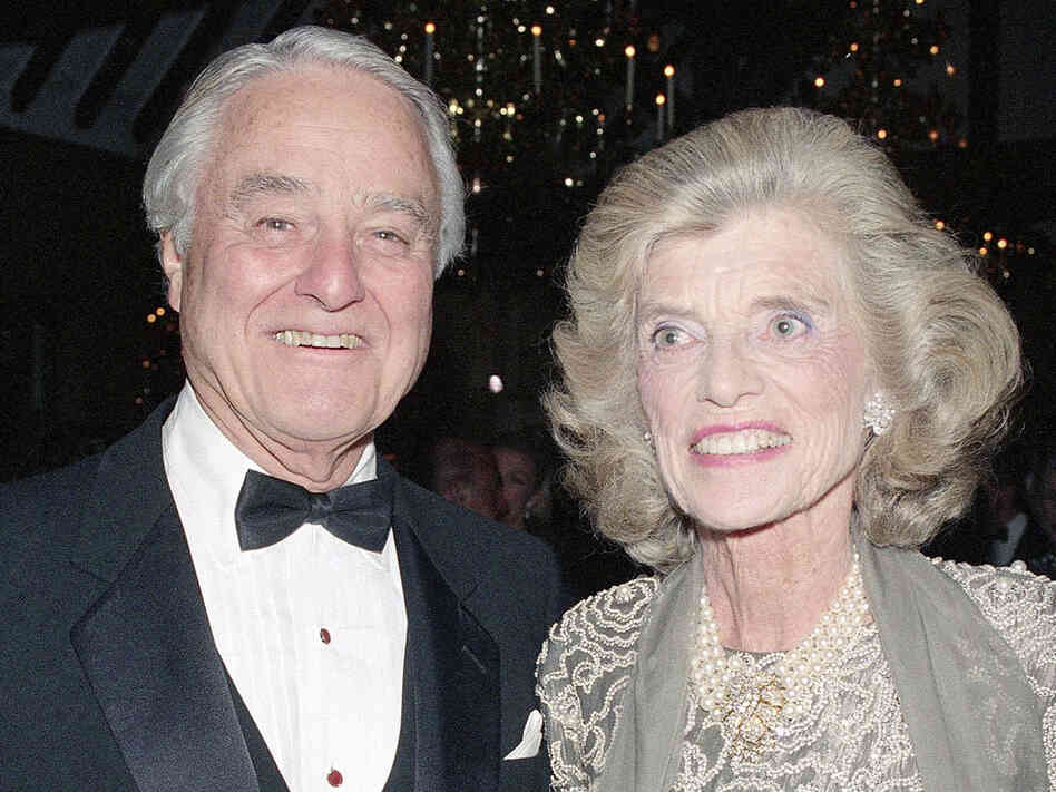 Sargent Shriver with wife Eunice Shriver