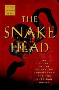'The Snakehead' book cover
