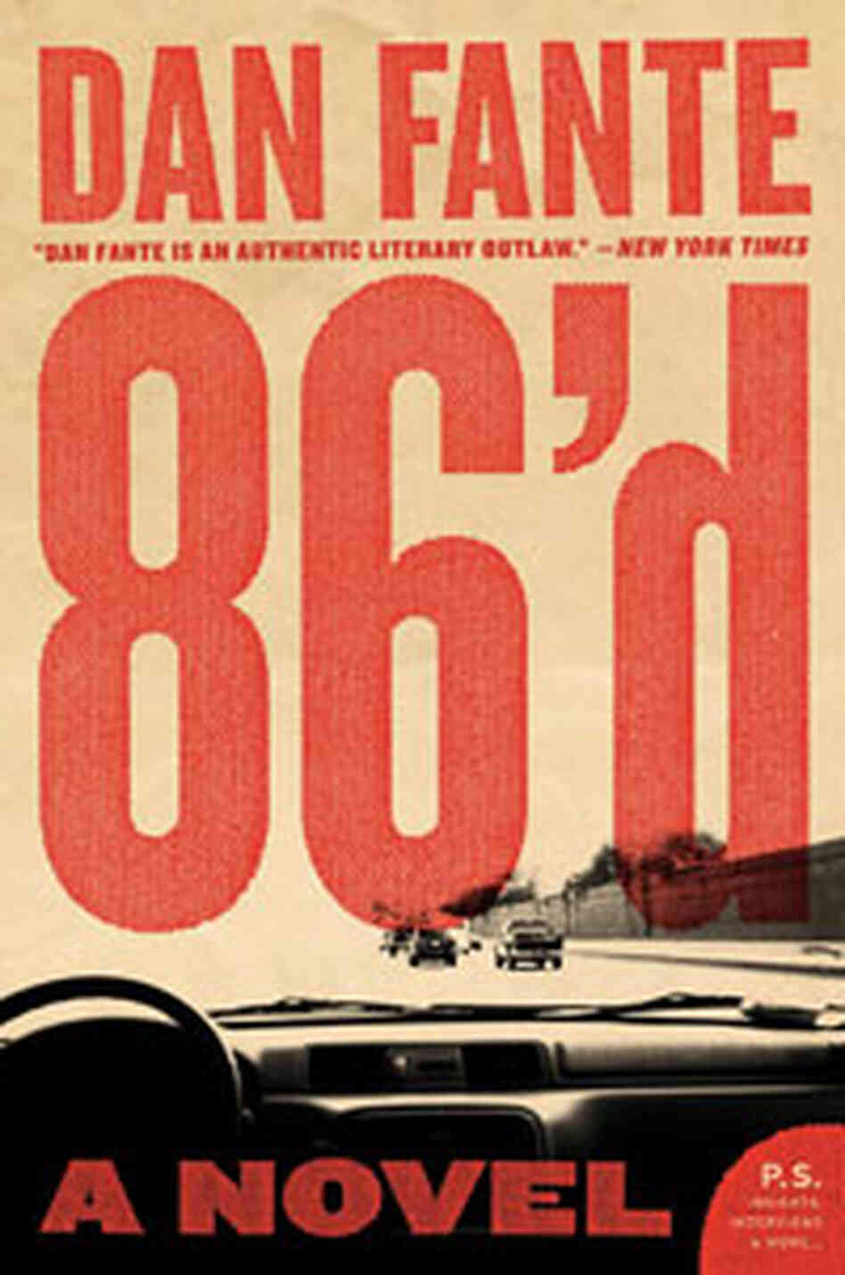 Cover of Dan Fante's '86'd'