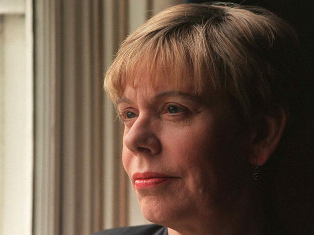 """Karen Armstrong has called on people around the world to collaborate on the writing of a """"Charter for Compassion"""" centered on the Golden Rule; now she's working with leaders from the Abrahamic faiths — Islam, Christianity and Judaism — to help finalize and propagate it. (AFP/Getty Images)"""