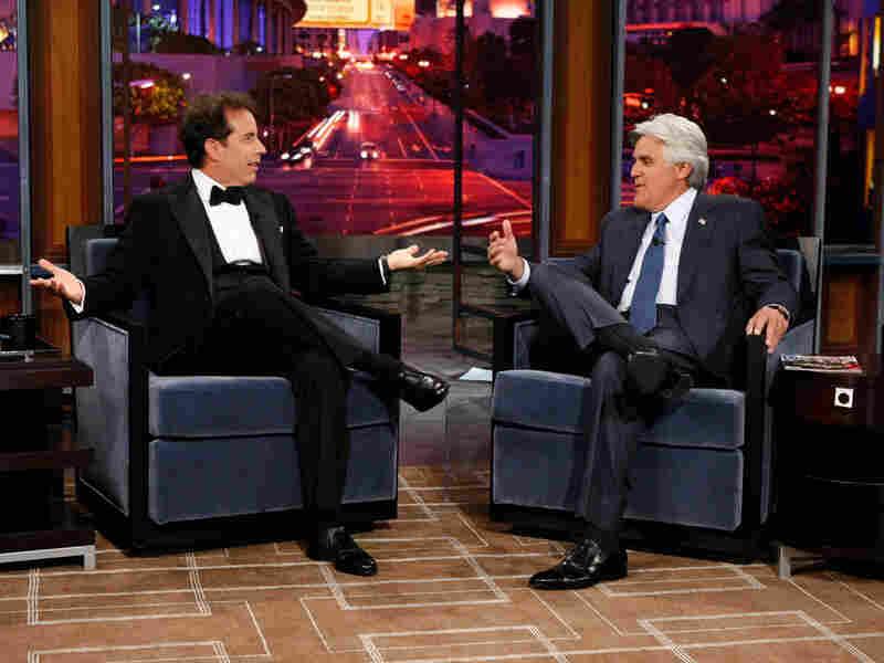 Jay Leno and Jerry Seinfeld on 'The Jay Leno Show'