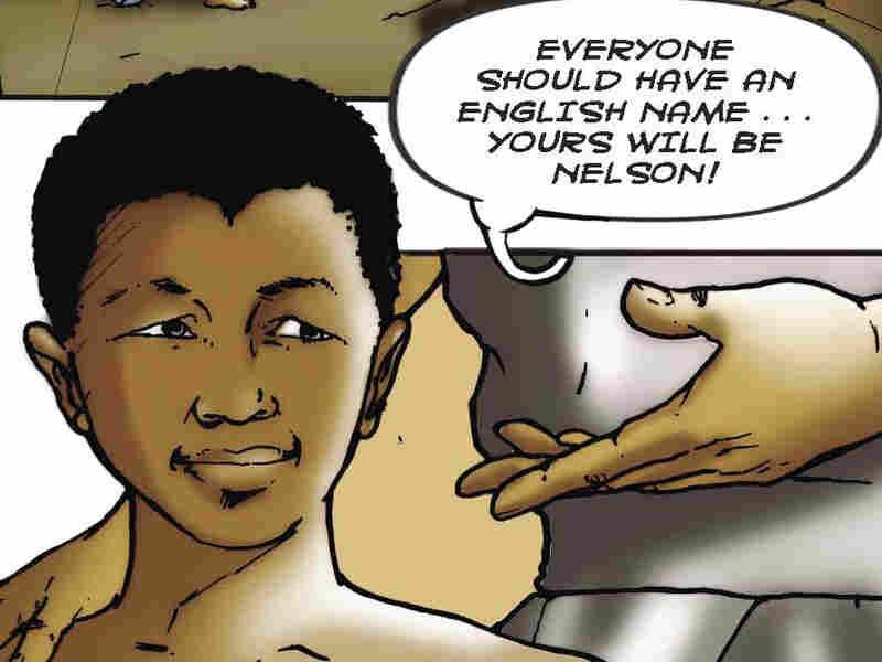 Nelson Mandela comic promo