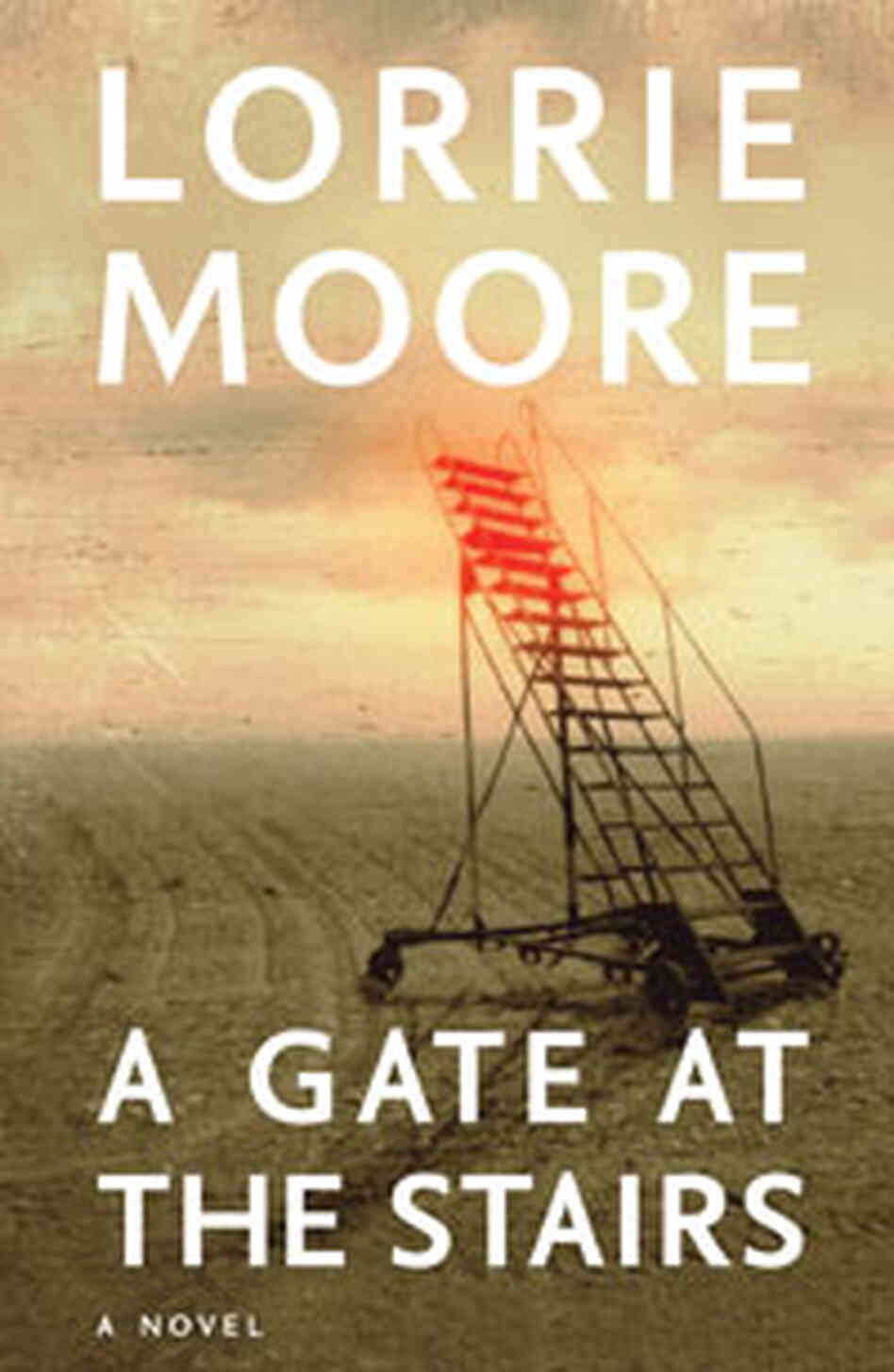Cover Image, 'A Gate at the Stairs'