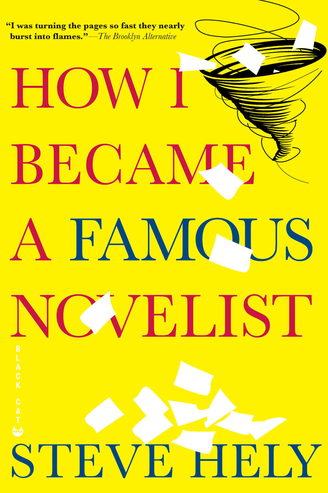 Book Cover: 'How I Became a Famous Novelist'