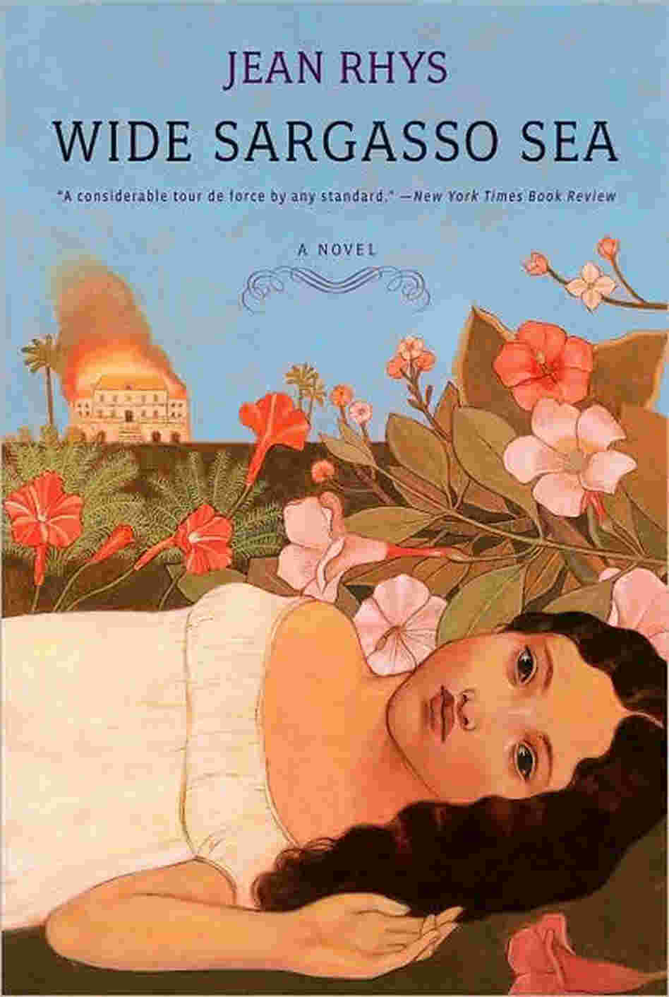 'Wide Sargasso Sea' book cover