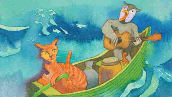 'Owl and the Pussy-cat' illustration