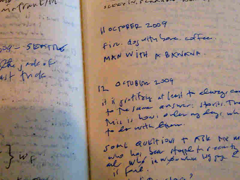 Kate DiCamillo's notebook