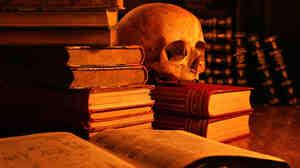 Spooky Books, wide