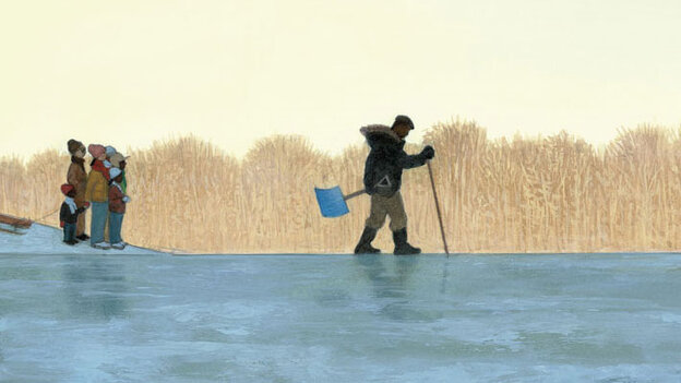 'Testing the Ice' illustration