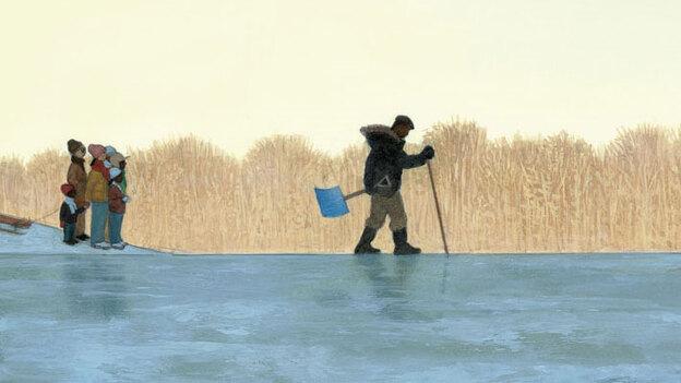 'Testing the Ice' illustration