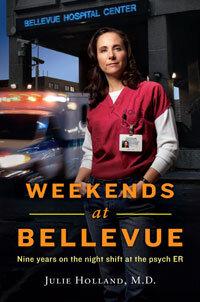 Venturing Inside Bellevue's Psychiatric ER : NPR