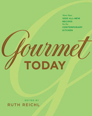 'Gourmet Today' Book Cover