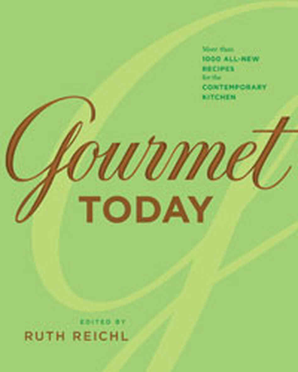 'Gourmet Today' Book Cov