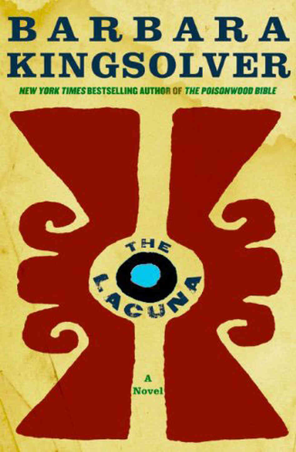 'The Lacuna' Book Cover