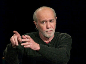 Image result for george carlin hands