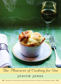 'Cooking For One' Book Cover