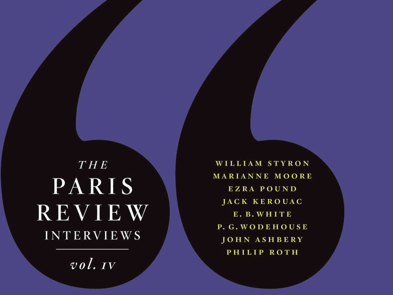 Paris Review' Author Interviews: 50 Years Of Insight : NPR