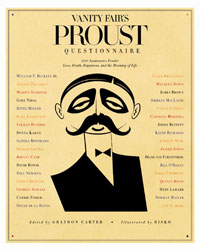 'Vanity Fair's Proust Questionnaire'