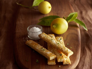 Thyme, Lemon and Sea-Salt Shortbread