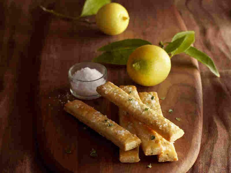 Thyme, Lemon and Sea-Salt Shortbread