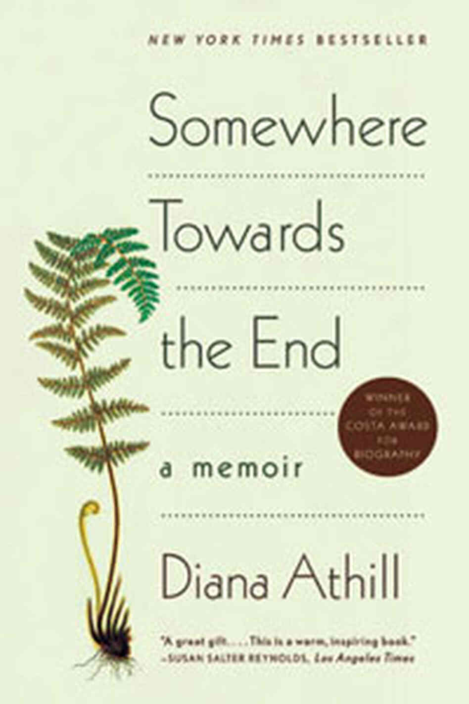 Cover of 'Somewhere Towards the End: A Memoir' by Diana Athill
