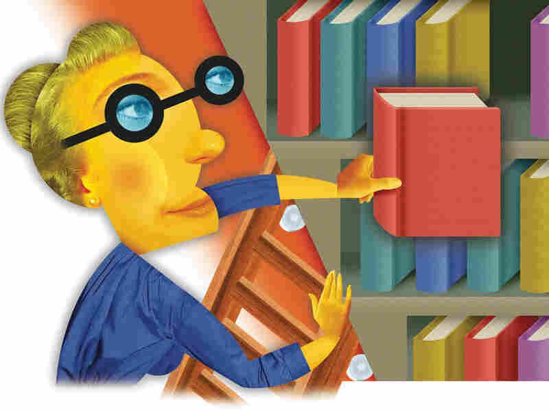 Bookseller Cartoon.  Artist: Gordon Studer