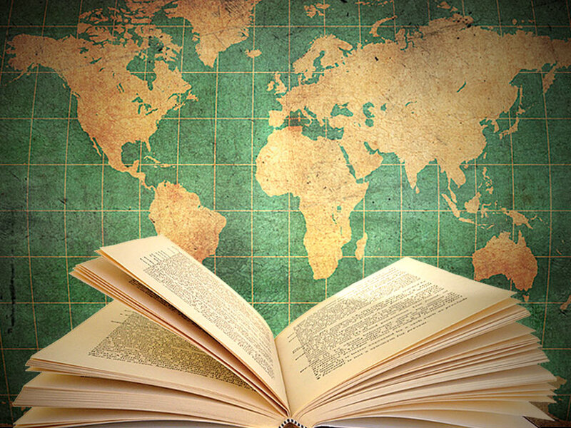 A world of novels picks for best foreign fiction npr book and map of the world gumiabroncs Image collections