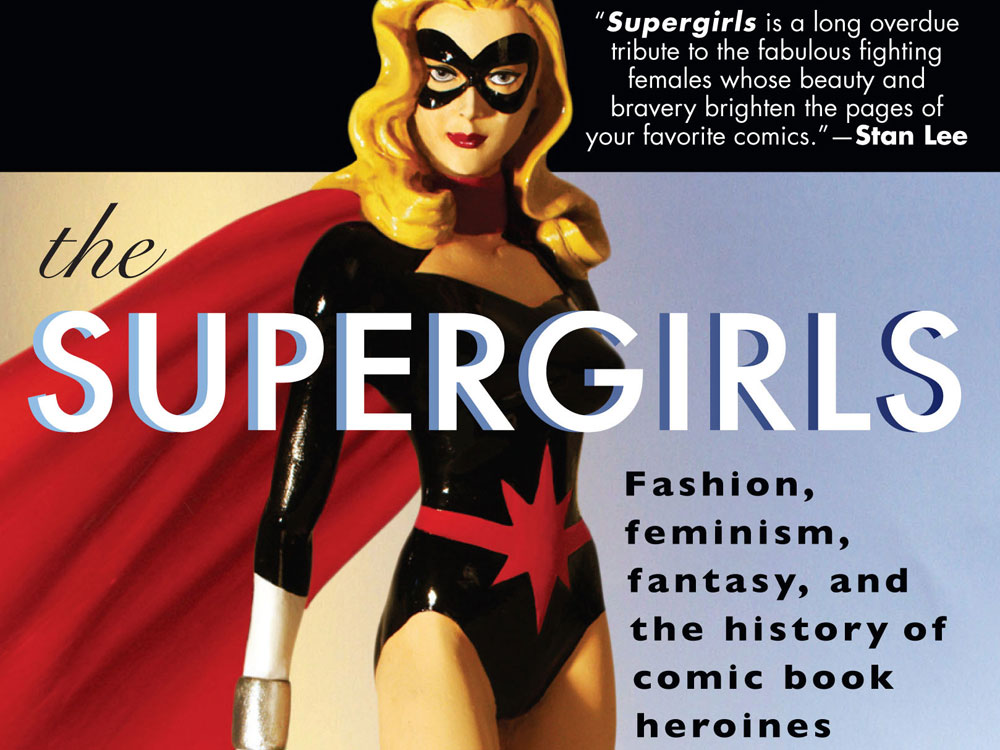 'The Supergirls' book cover