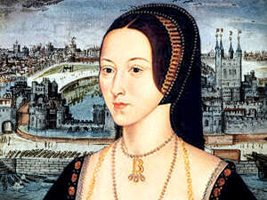 Anne Boleyn (detail)