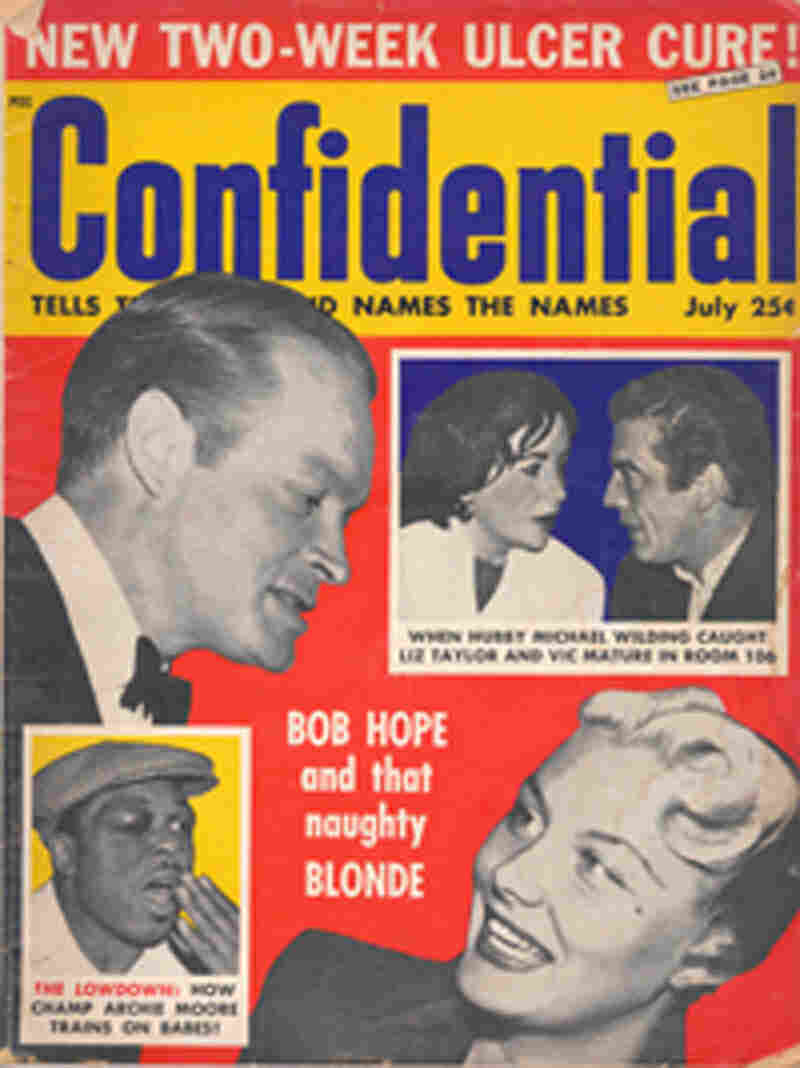 Confidential magazine with Bob Hope on cover