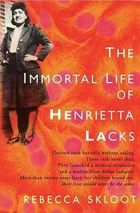 'Immortal Life Of Henrietta Lacks' book cover